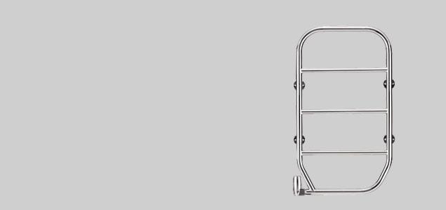 タオルウォーマー/自立タイプ/ホワイト [ 洗面所のタオル掛けにタオルヒーター ]