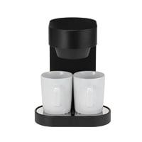 ±0 プラスマイナスゼロ/コーヒーメーカー2カップ/オリジナルマグカップ2個つき [±0 プラスマイナスゼロのコーヒーメーカー全3色]