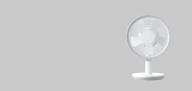 ±0 プラスマイナスゼロ/扇風機・サーキュレーター/テーブルファンX810 [ ±0 プラスマイナス ゼロ のサーキュレーター / 扇風機 ]