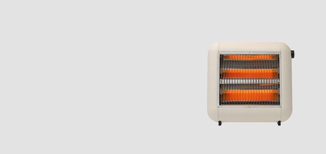 ±0 プラスマイナスゼロ/遠赤外線電気ストーブ XHS-Y010/ブラウン