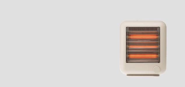 ±0 プラスマイナスゼロ/遠赤外線電気ストーブ スチーム機能付き XHS-V110/ベージュ