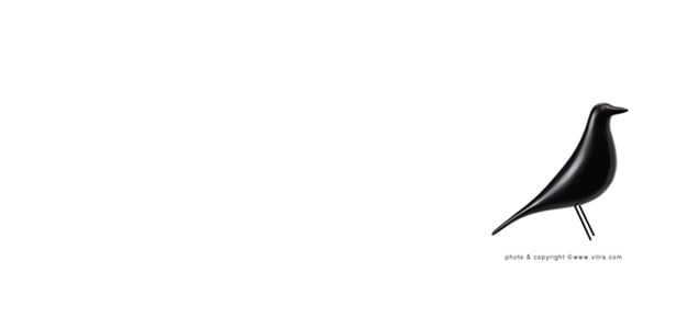 Vitra ヴィトラ/Eames House Bird/イームズ ハウスバード