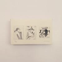 【版画/引き出物に】アートパネル/版画/宝珠光寿/幸せなふたり ささやかな毎日[引き出物にアートパネル]