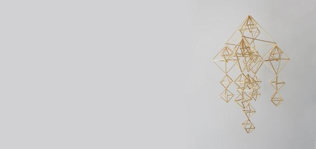北欧クリスマスオーナメント/ヒンメリ キット/新パッケージ
