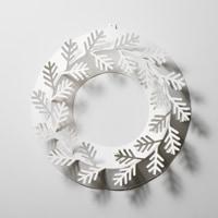 クリスマスリース/ホワイト/もみの木