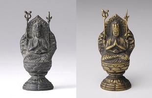 高岡銅器 金属仏像/十二支のお守り本尊/7cm/阿弥陀如来