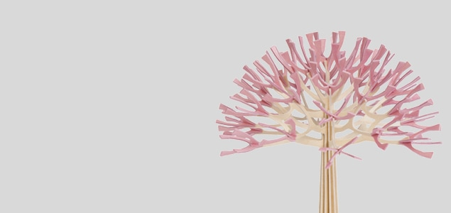 北欧lovi ロヴィ/SEASON TREE(シーズンツリー)/チェリーピンク/22cm