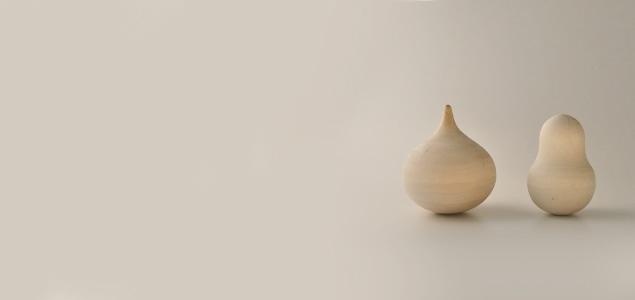 ロシア製 白木おきあがりこぼし/マトリョーシカ