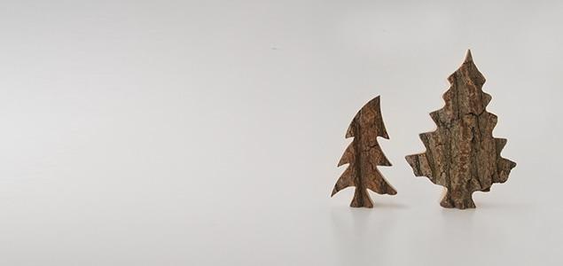 シンデレラの舞台となった「黒い森」から作られた ドイツ waidfabrik社 木製クリスマスツリー