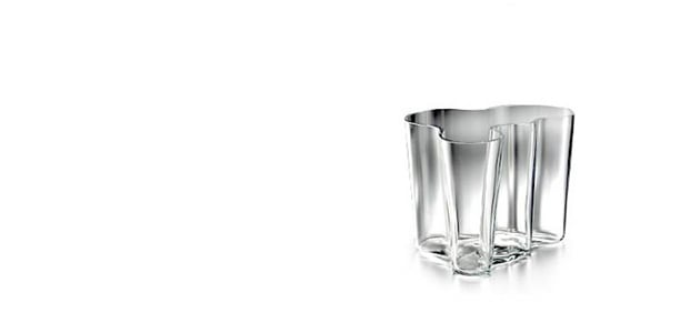 iittalaイッタラ/aalto vase アアルト ベース/花瓶 ホワイトL [北欧iittalaイッタラのaalto vase(アアルトベース)/北欧フィンランド製 alvar aaltoデザインのガラス花瓶]