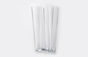 iittalaイッタラ/aalto vase アアルト ベース/花瓶 finlandia 201mm/ホワイト