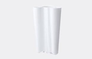 iittalaイッタラ/aalto vase アアルト ベース/花瓶 finlandia 201mm/クリア