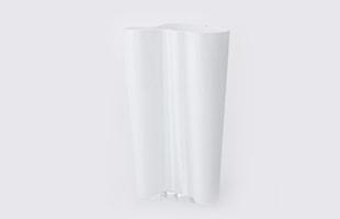 iittalaイッタラ/aalto vase アアルト ベース/花瓶 finlandia 251mm/ホワイト