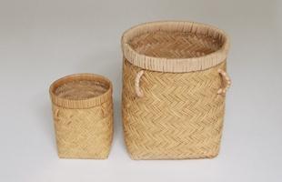 岩手 鳥越 竹細工|つぼけ10cm