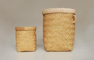 岩手 鳥越 竹細工|つぼけ18cm