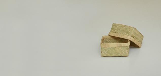 岩手 鳥越 竹細工|小物かご