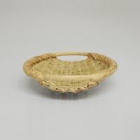 岩手 鳥越 竹細工|取っ手つき楕円ざる 3サイズセット