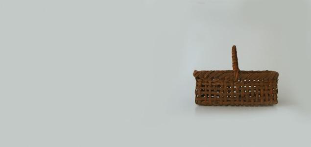 山葡萄 取っ手付きかご/大 [ 奥会津の山葡萄かご ]