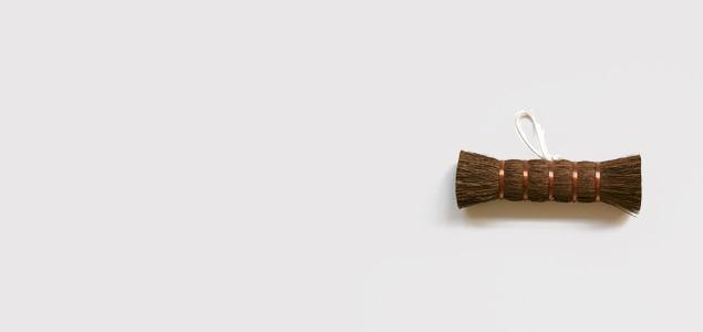 白木屋傳兵衛/江戸箒 ほうき/棕櫚の足袋洗い [ シュロ たわし 束子 タワシ]