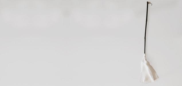 白木屋傳兵衛 商店/羽二重正絹ハタキ [ ほこり はたき 掃除道具 清掃道具]