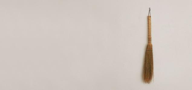 白木屋傳兵衛 商店/江戸箒 ほうき/苔ほうき [ 箒 掃除道具 清掃道具]