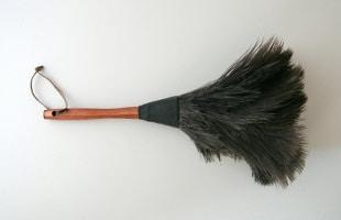 REDECKER レデッカー/オーストリッチ羽はたき35cm [ はたきはREDECKER レデッカー]
