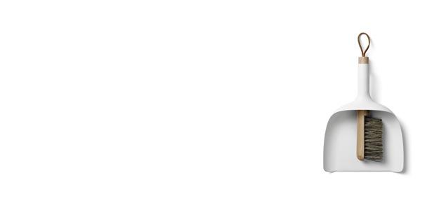 北欧 menu ほうき・ちりとり セット sweeper&Funnel [全2色] [ ほうき・ちりとりセットは北欧menu ]