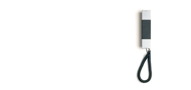 Jacob Jensen ヤコブ イェンセン|デザイン電話機/T-1 telephone/シルバー[北欧のシンプル デザイン電話機はJacob Jensen]