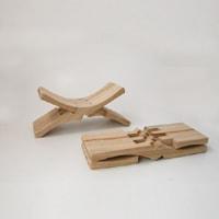 旅行用枕/クスノキ枕 [ クスノキでできた旅行用携帯枕 ]