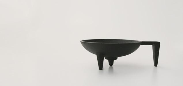 南部鉄器/釜定//燭台・手燭