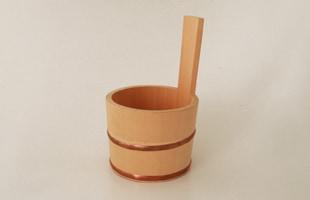 木曽ひのきの風呂セット湯桶 小