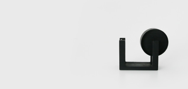 ヨーガンレール/ババグーリ/釜定 南部鉄器/テープカッター[直線美がおしゃれな南部鉄器/テープカッターはヨーガンレール/ババグーリ]