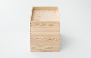 深さの違う箱でもきっちりと組みあがります