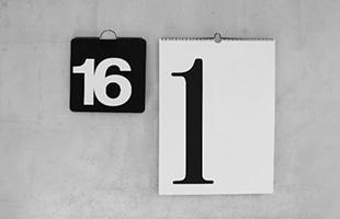 NAVA 壁掛けカレンダー Calendone と NAVA 壁掛けカレンダー Max 365のサイズ比較