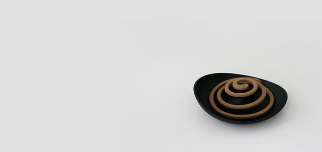 naft rondo 蚊遣り・蚊取り線香入れ [ アイアン・アルミ製のおしゃれなかやり ]