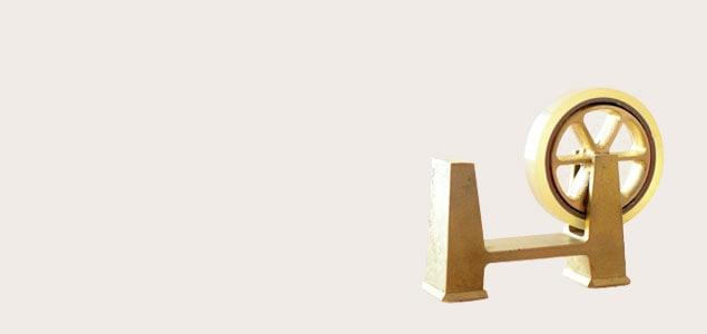 FUTAGAMI/鋳肌 テープカッター[鋳物メーカーのおしゃれなテープカッター]