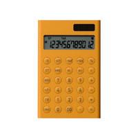 ±0 プラスマイナスゼロ/電卓・計算機S [12桁 電卓/±0 プラスマイナスゼロの12桁表示電子計算機]