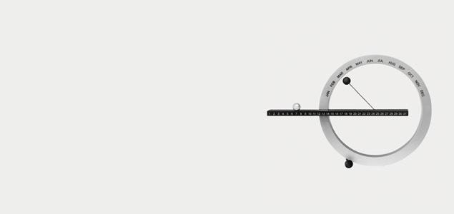 MOMA ギデオン・ダガン/万年カレンダー 卓上/パーペチュアルカレンダーS [万年カレンダー 卓上はMOMA ギデオン・ダガン]