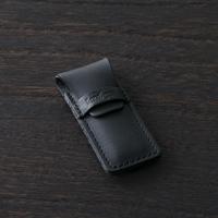 Kershaw + 貝印  ツメキリ・爪切り 日本製 リーフタイプ【革ケース付 ギフトBOX】