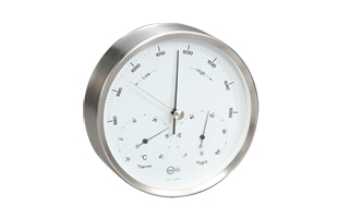 BARIGO/温湿気圧計(壁掛用) BG350 φ160