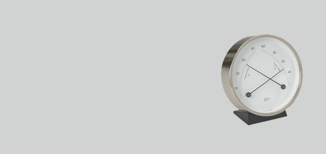 BARIGO/温湿計 (壁掛け・卓上両用) [全3種]
