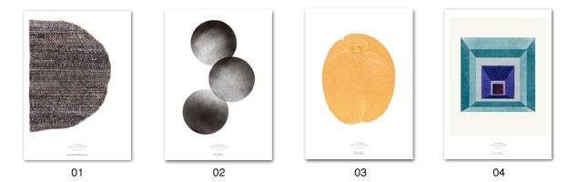 Kahler Omaggio(ケーラー/オマジオ)のデザイナーが手掛ける北欧STILLEBENのポスター
