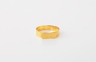 Marc Monzo リング blank ring K18YG