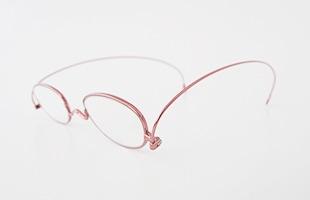 paperglass 老眼鏡 オーバル ベーシックレッド