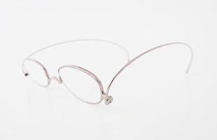 paperglass 老眼鏡 オーバル ベーシックピンク