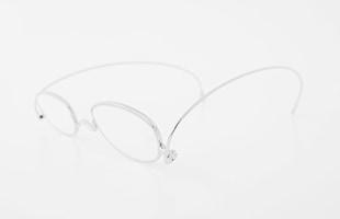 paperglass 老眼鏡 オーバル ベーシックシルバー