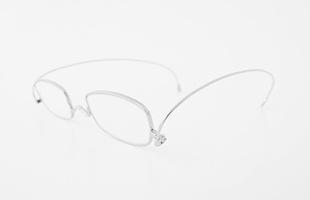 paperglass 老眼鏡 スクエア ベーシックシルバー