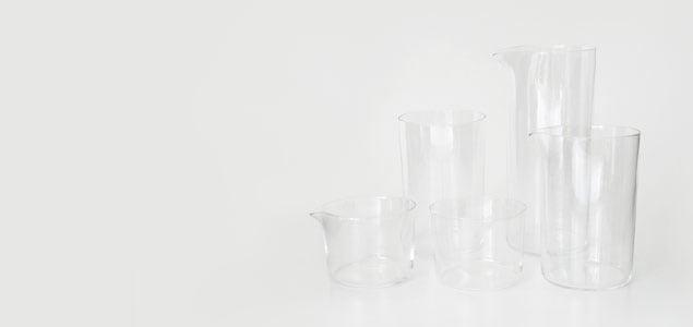 ほぼ日刊イトイ新聞 [ほぼ日] 白いお店 伊藤まさこ X 松徳硝子  &のグラス