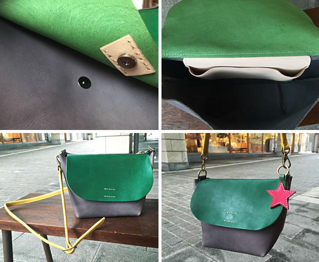 日本製 カラーオーダーバッグ