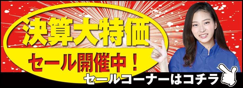 【3月】今月のセールコーナー